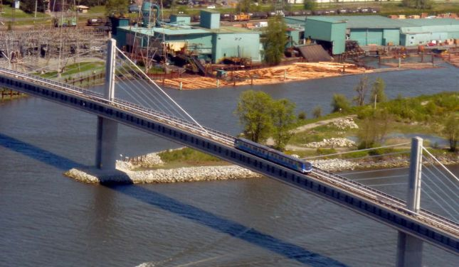 The Canada Line resulted in significant changes to Richmond transit. Photo credit: Flickr - Richard Eriksson