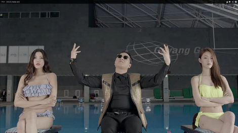 "From the music video for the new PSY single ""GENTLEMAN"""