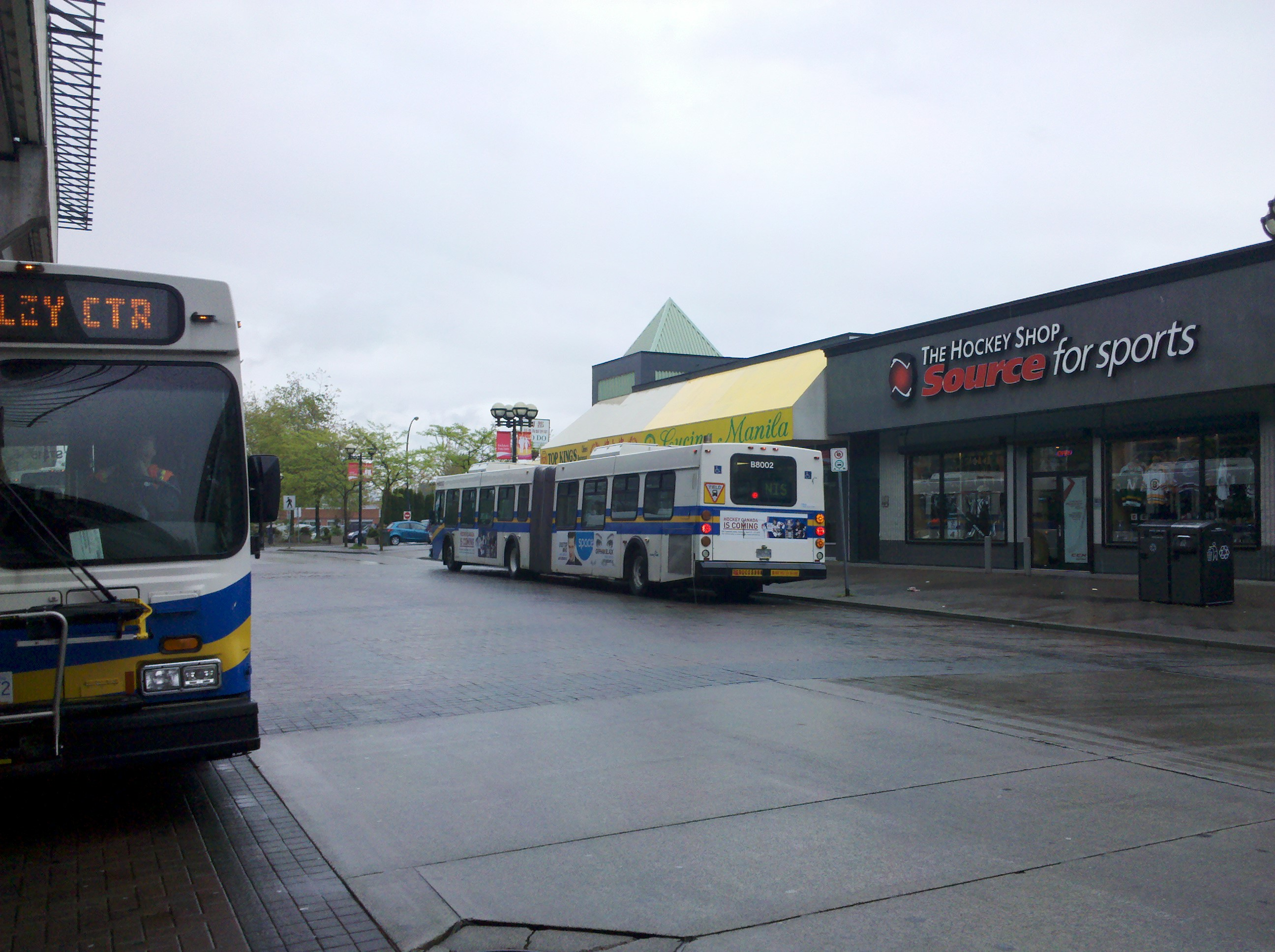 photo: translink testing surrey b-line bus - daryl's dialogue