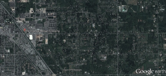 Grandview from the sky, May 2013 - Google Earth