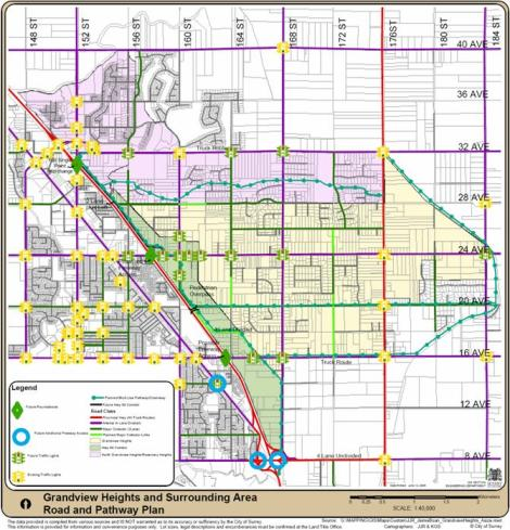 Grandview Heights Map