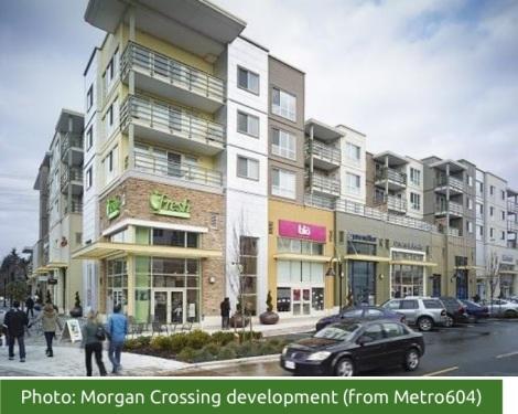Morgan Crossing: Original image posted on Metro 604