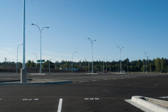 South Surrey Park and Ride's Expansion Lot. CC-BY; Photo credit: Tay.Freder on Flickr