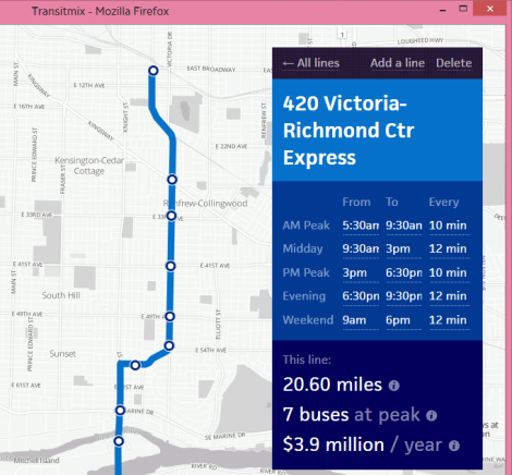TransitMix is a new web app that allows both professionals and armchair transit planners/enthusiasts to easily conceptualize transit networks and routes
