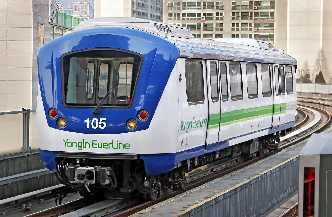 Yongin Everline Train